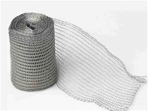 knitted wire mesh knitted wire mesh knit methods and application