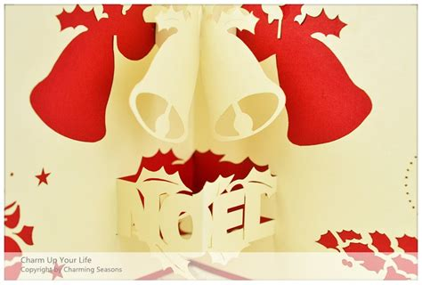 origami pop up card origami handcrafted 3d season s greeting card merry