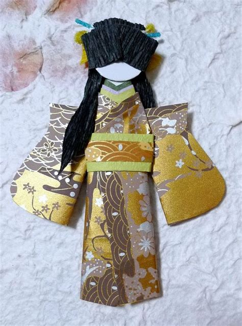 origami dolls adorable japanese origami doll peony quot buy 2 and get