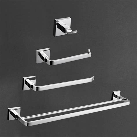 chrome bathroom accessories sets chrome brass bath accessories set bath accessories towel