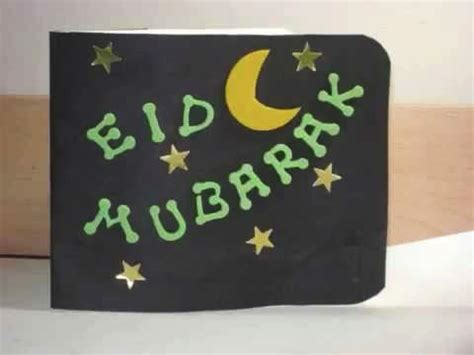 simple eid cards to make eid cards for to make craftshady craftshady