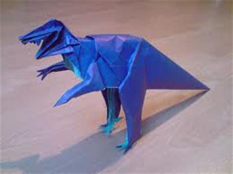 origami allosaurus origami maniacs origami allosaurus