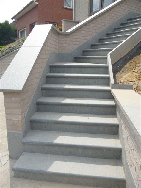 escalier d exterieur belgique 2 de wandeleer natuursteen