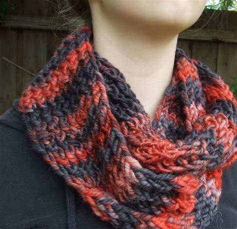 all free knitting cowls orange slice cowl allfreeknitting