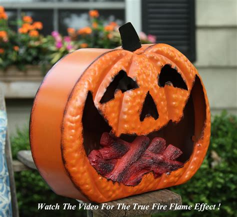 battery operated pumpkins battery operated metal pumpkin with moving effect