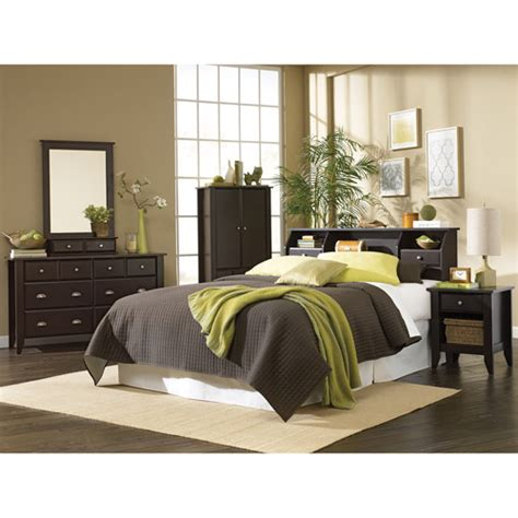 walmart bedroom furniture sets sauder shoal creek 4 bedroom set jamocha walmart