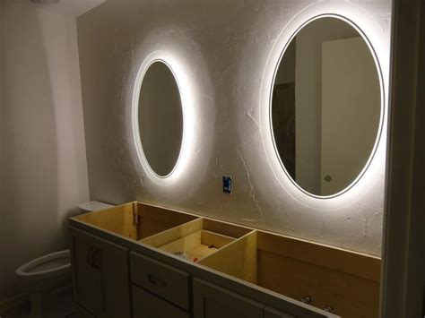 cheap bathroom mirrors with lights bathroom mirrors with lights around