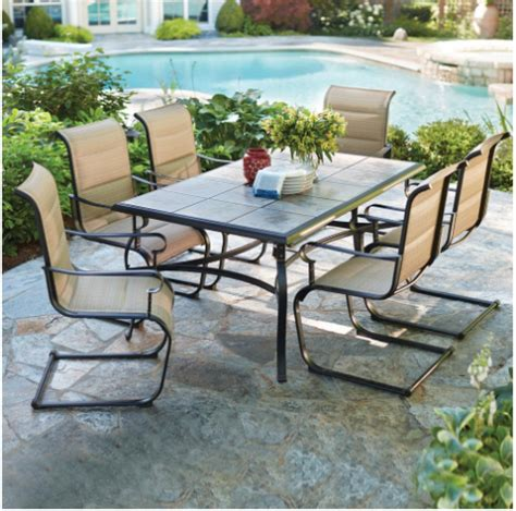 home depot patio furniture sale patio furniture set on sale at home depot kasey