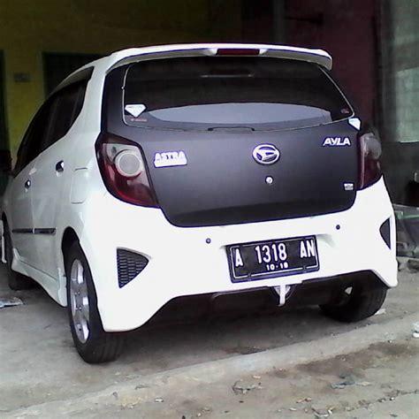 Modifikasi Mobil Agya by Jual Modifikasi Toyota Agya Sparepart Mobil Murah