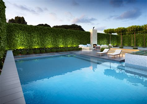 Wall Gallery Ideas landscape amp garden design melbourne nathan burkett design