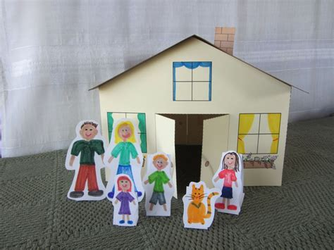 paper houses craft 17 best images about cardboard doll house s and more on