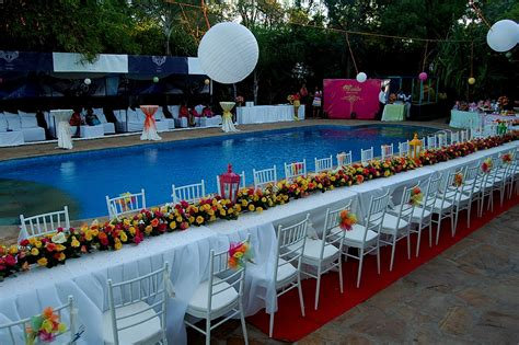 swimming pool decorations 94 pool decorations for wedding delightful design