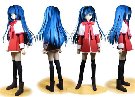 anime paper craft anime papercraft figures
