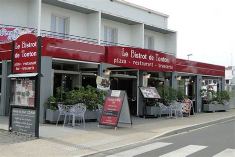 restaurant le bistrot de tonton restaurants jean de monts vend 233 e tourisme
