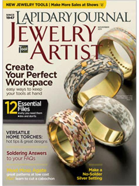 jewelry magazine magazines of a metalsmith hammermarks