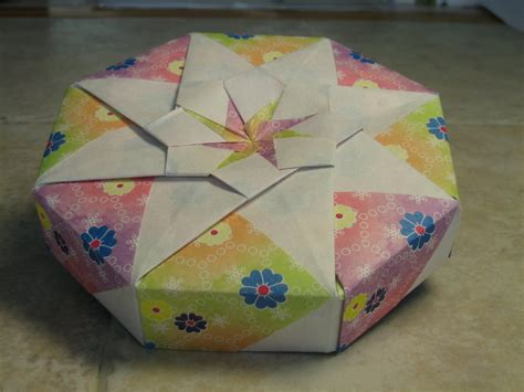 8 5 x 11 origami joyful origami boxes by tomoko fuse by paperchang on