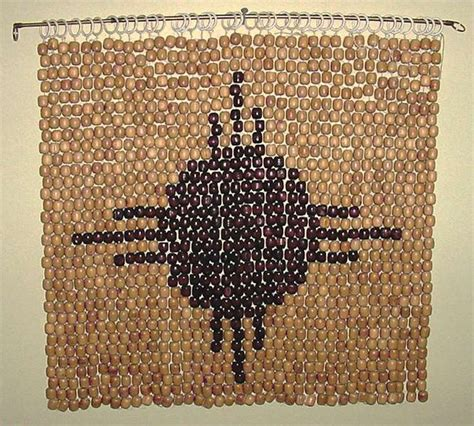 bead wall from wood beaded car seat cover to wall hanging