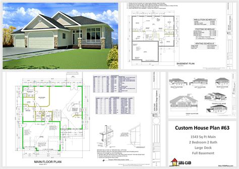 plans for houses house and cabin plans