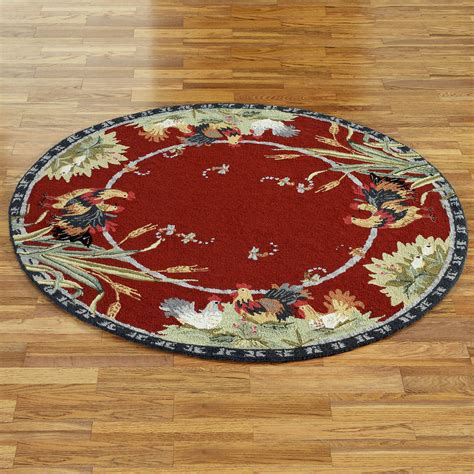 rooster rugs rooster and hens rugs