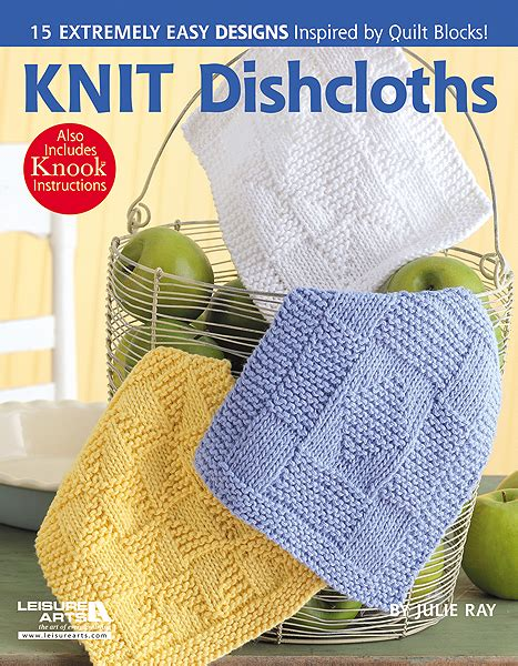 books for knitting everyday at leisure knit dishcloths a new pattern