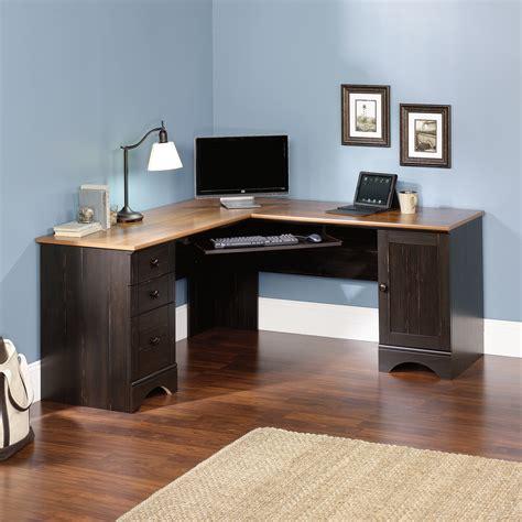 sauder corner desk harbor view corner computer desk 403794 sauder