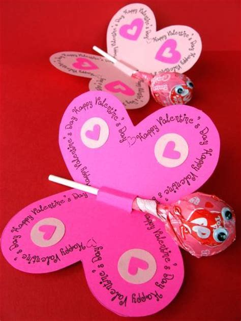 how to make cool valentines day cards cards lollipop butterflies