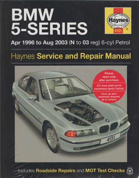 online car repair manuals free 2003 bmw m5 spare parts catalogs bmw 5 series service and repair manual haynes 1996 2003 new sagin workshop car manuals repair