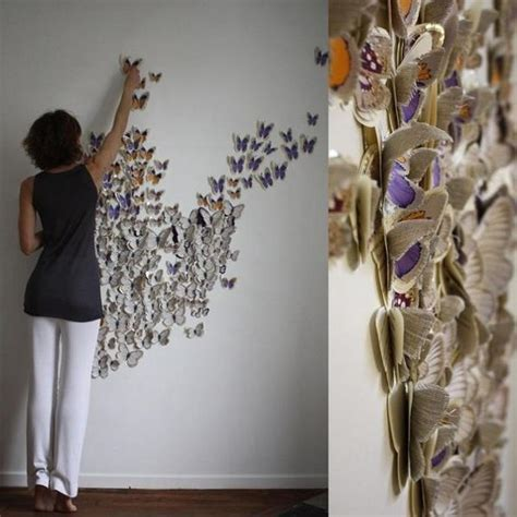 paper crafting ideas for adults handmade butterflies decorations on walls paper craft ideas