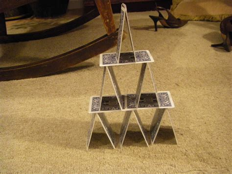 how do you make a card tower day 48 build a tower out of cards or attempt to 181 days