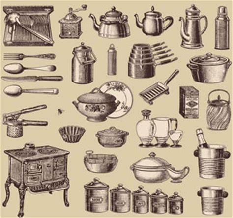 Pictures Of Different Kitchen Tools And Equipment