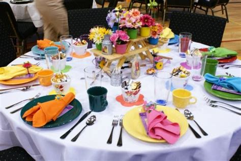 lunch table decoration ideas luncheon stage and table decoration ideas