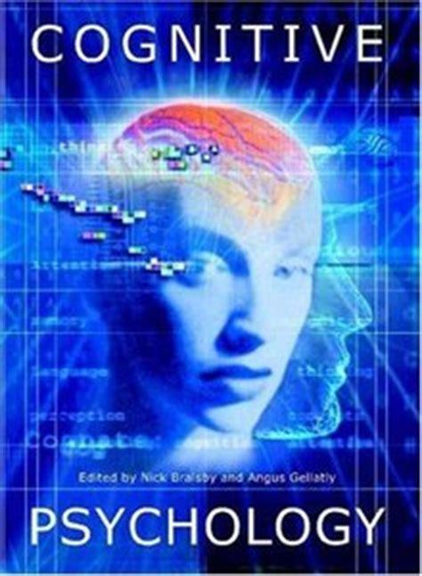 cognitive psychology cognitive psychology free ebooks