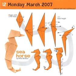 origami seahorse 25 best ideas about origami on