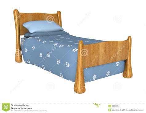 childs bed childs bed stock illustration image of childrens white