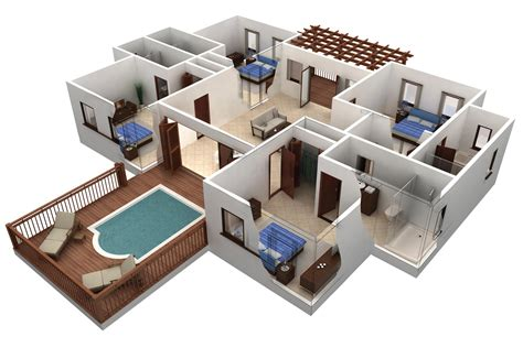Floor Plan Freeware home design delectable 3d house plans and design 3d house