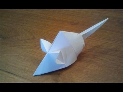 how to make an origami mouse how to make an origami mouse tetsuya gotani