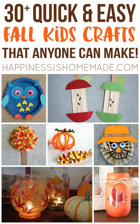 fall crafts for to make easy fall crafts that anyone can make happiness is