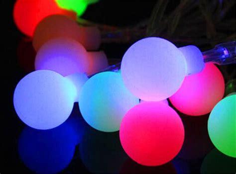 outdoor large bulb string lights 10m led large bulb string light waterproof outdoor patio