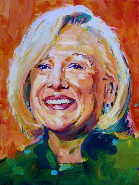 acrylic painting portrait david lobenberg some recent acrylic portraits