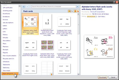 how to make flash cards in word how to make index cards in microsoft word 2007