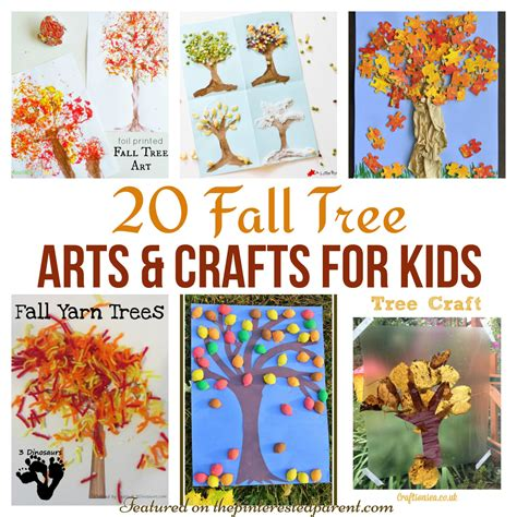 autumn arts and crafts for 20 fall tree arts crafts ideas for the