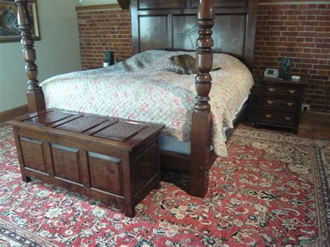 a perfect match persian carpet elegant four poster bed
