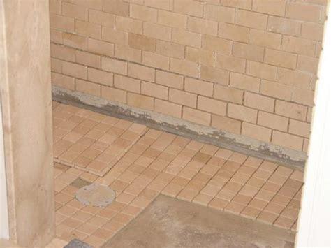 bathroom shower floor tiles how to install tile in a bathroom shower how tos diy