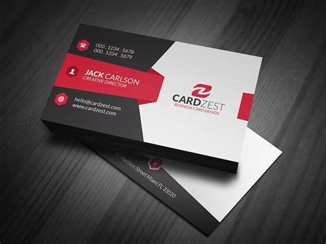 easiest way to make business cards modern sleek corporate business card template 187 cardzest