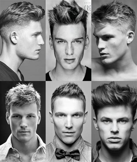 hair cut with a defined point in the back get the right haircut key men s hairdressing terminology