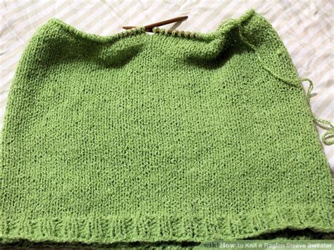 steps to knit a sweater how to knit a raglan sleeve sweater 12 steps with pictures