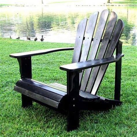 indoor adirondack chair westport indoor outdoor adirondack chair in black from the