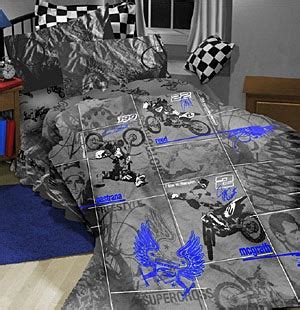 motocross bedding sets dirtbike comforter