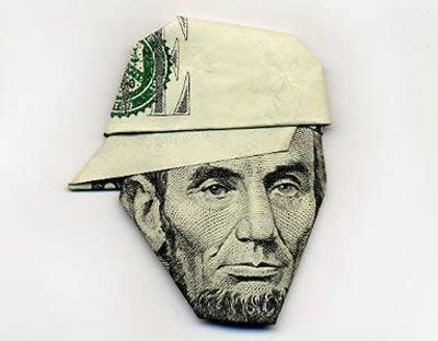 paper money origami folding money a cup of jo