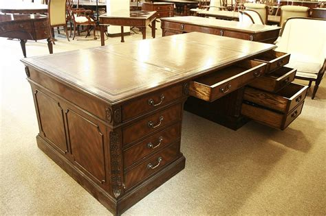 office desk leather top executive leather top desk large 84 inch leather top